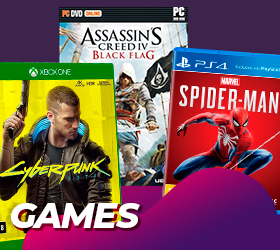 Jogos: PS4, PS5, XBONE ONE, XBONE 360 e PC