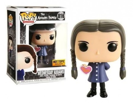 * Funko Pop Filme - A Família Addams   - Wednesday Addams 816 ( Hot Topic)-The Addams Family-816