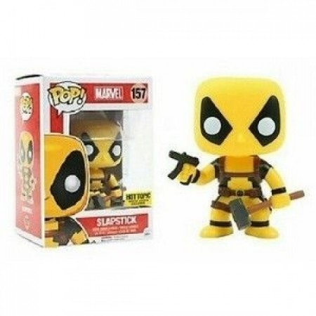* Funko Pop Filmes - Marvel Deadpool - Slapstick 157 ()-Marvel Deadpool-157
