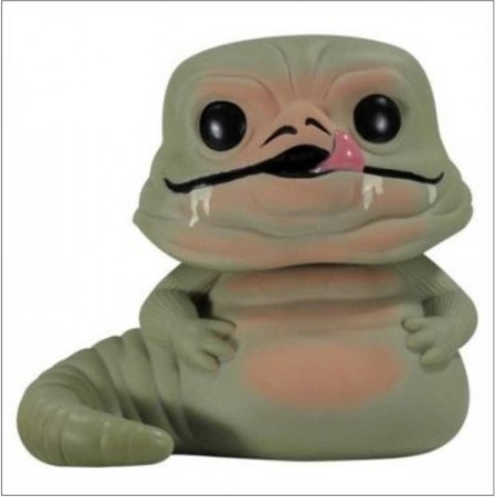 * Funko Pop Filmes - Star Wars - Jabba The Hut 22 *loose *-Stars Wars-22