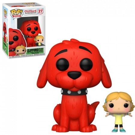 Funko - Clifford O Grande Cachorro Vermelho - Clifford With Emily-Clifford The Big Red DOg-1