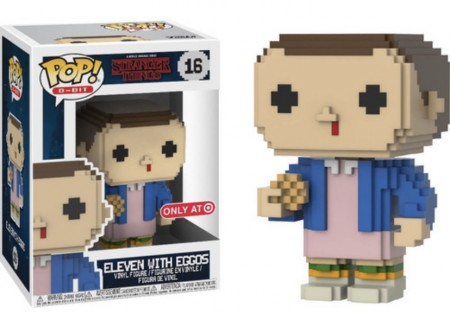 Funko Pop! Stranger Things 8-bit  Eleven W/ Eggos Onlyat-Stranger Things-16