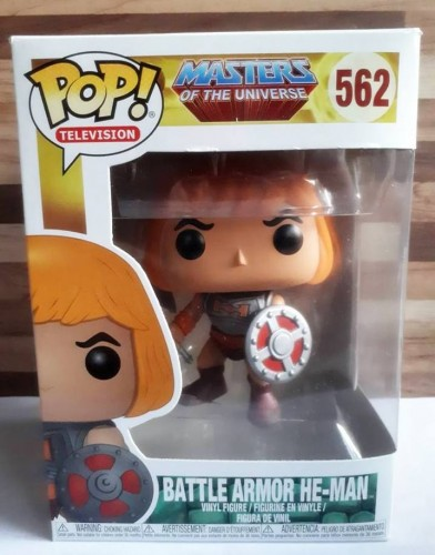 Funko Pop! Tv Battle Armor He-man - Masters of the Universe - #562