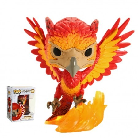 Funko Pop! Movies: / Harry Potter - Fawkes-Harry Potter-87