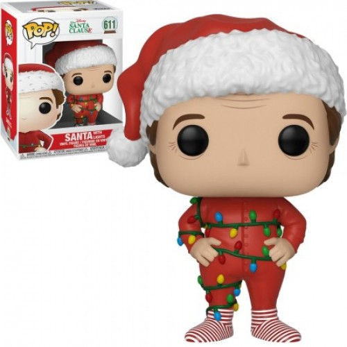Funko Pop Santa W/ Lights - Papai Noel - The Santa Clause - #611