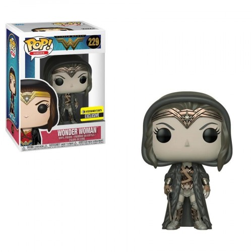 Wonder Woman (cloaked) Pop! Vinyl Sepia – Entertainment Earth Exclusive - Wonder Woman Movie - #229