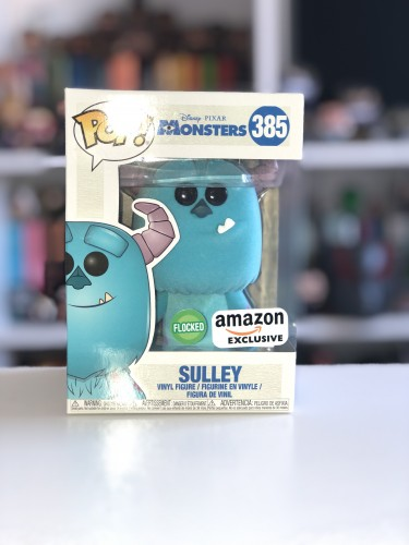 Funko Pop Sulley Flocked/ Flocado Monstros S. A.-Disney-385