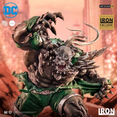 Action Figures Doomsday Deluxe Art Scale 1/10 - Dc Comics Series 5 Event Exclusive-DC-