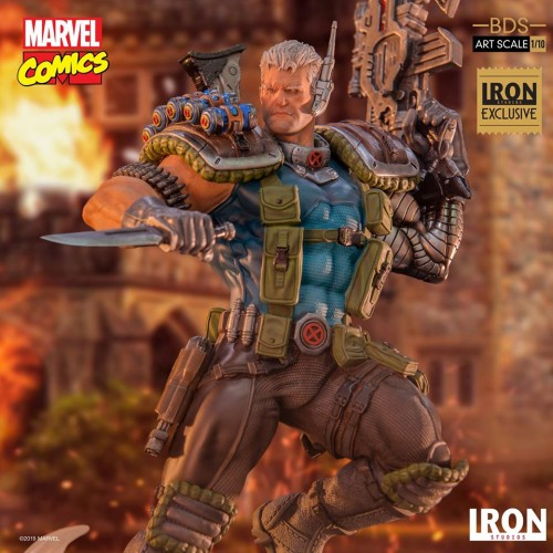 Action Figures Cable Bds Art Scale 1/10 - Marvel Comics Series 6 Event Exclusive-Marvel Comics-