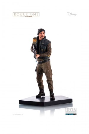 Action Figures Cassian Andor Art Scale 1/10 Star Wars Rogue One Iron Studios-Stars Wars-