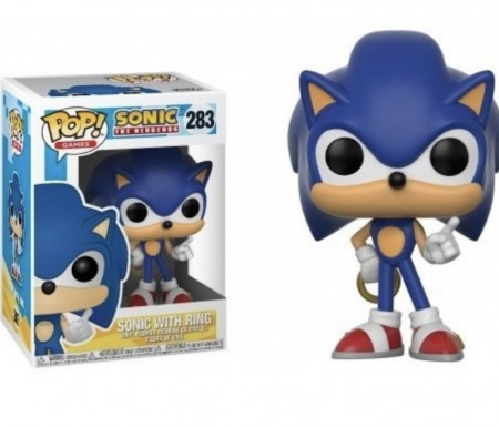 Funko Pop! Sonic The Hedgehog With Ring-Sonic The Hedgehog-283