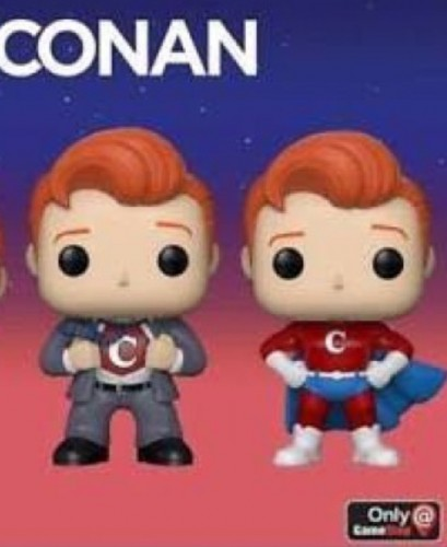 Funko Pop 2 Conan O'brien Exclusive Clark Kent + Superman Frete Gratis - CONAN - #19