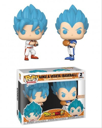 Funko Pop Goku E Vegita Ssj Blue Baseball - Box Lunch Exclusive-Dragon Ball Super-2