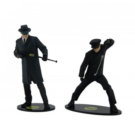 Action Figures The Green Hornet And Kato Besouro Verde Comic Serie-The Green Hornet-