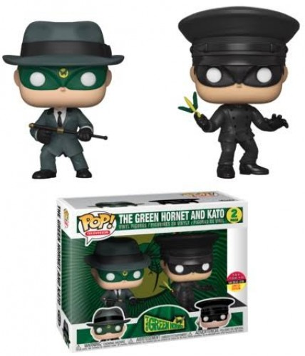 Funko 2 Pack Green Hornet & Kato Sdcc Toy Tokyo-The Green Hornet-2