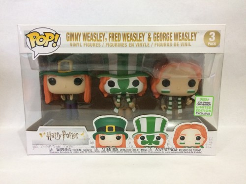 Funko Pop 3 (three) Pack Weasley - Spring Convention-Harry Potter-3