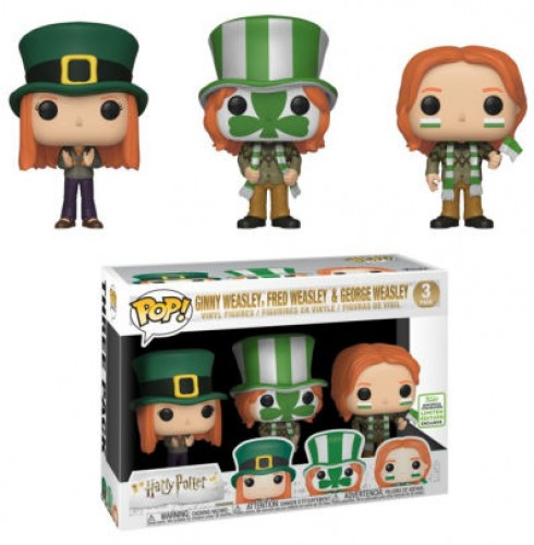 Funko Ginny Weasley, Fred Weasley & George Weasley (quidditch World Cup) - Barnes & Noble-Harry Potter-3