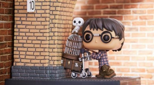Funko Harry Potter Plataforma 9 3/4 Versão Exclusiva-Harry Potter-81