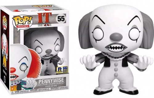 Funko Pop It A Coisa Pennywise Black And White Exclusivo Ri Comic Con-IT A Coisa-55