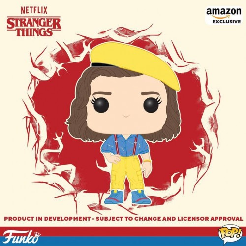 Funko Pop Eleven Yellow Outfit-Stranger Things-100