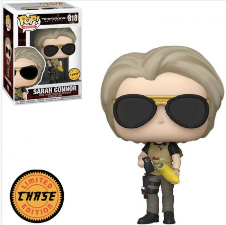Funko Pop! Exterminador Do Futuro: Sarah Connor Chase-Terminator - Dark Fate-818