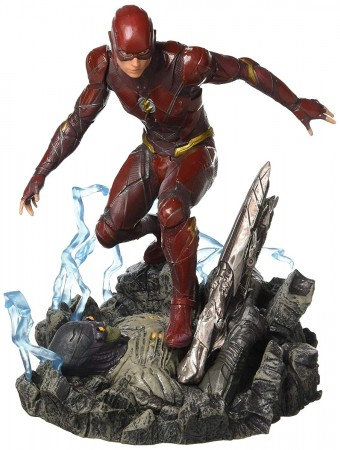 Action Figures The Flash Dc Comics Liga Da Justiça Diamond Select Gallery-The Flash-