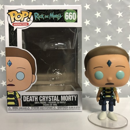 Funko Pop Death Crystal Morty-Rick And Morty-660