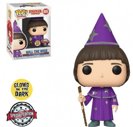 Funko Pop! Stranger Things: Will The Wise (glow In The Dark ) Special Edition-Stranger Things-805