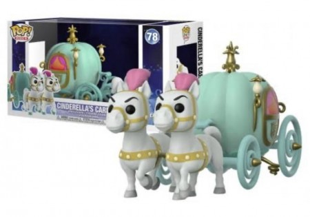 Funko Pop Ride ! Disney: Carruagem Cinderela #78-Cinderella-78