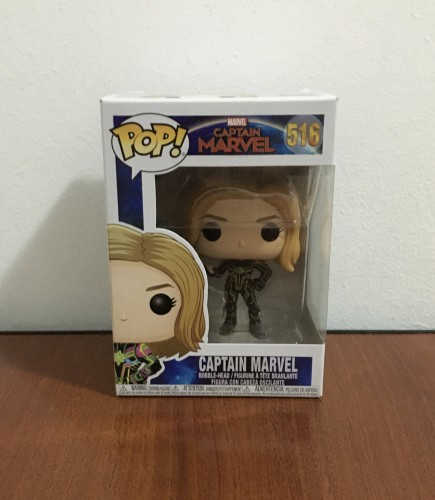 Funko Pop Captain Marvel - Captain Marvel . - #516