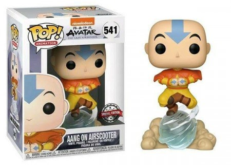 Funko Pop Aang On Airscooter-Avatar: The Last Airbender-541