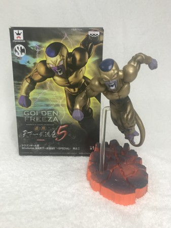 Action Figure Freeza Dourado 15cm Dragon Ball-Dragon Ball-