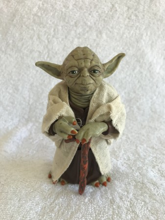 Action Figure Mestre Yoga Com 12cm Star Wars-Stars Wars-