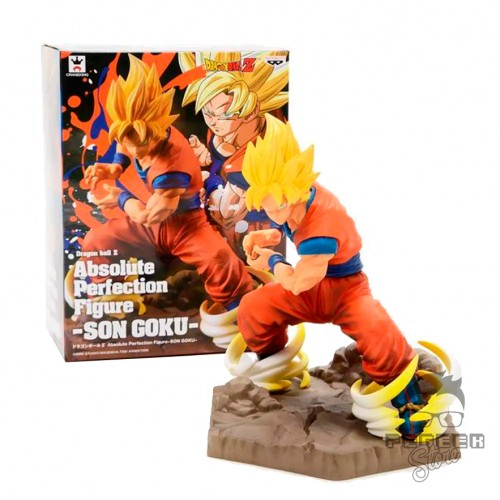 Action Figures Absolute Perfection Goku Super Saiyan-Dragon Ball-