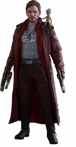 Action Figures Star Lord V. 2 Deluxe Edition. Hot Toys-Guardiões da Galáxia Vol 2-