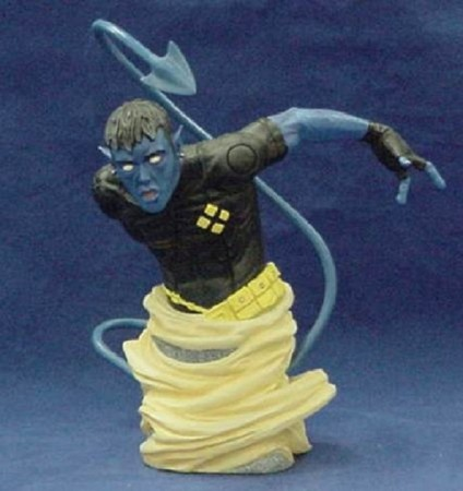 Action Figures Statue Marvel Ultimate X-men Bust Nightcrawler Noturno - Marvel Ultimate X-Men - #