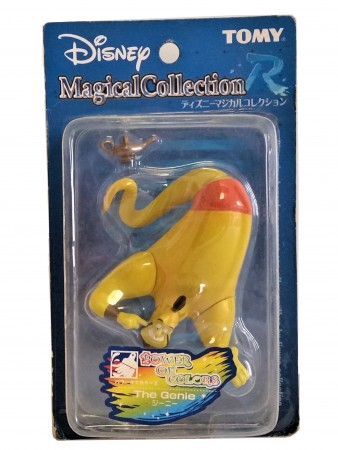 Action Figures Tomy Disney Magical #r011 Poc The Genie O Gênio Da Lâmpada-Aladdin-