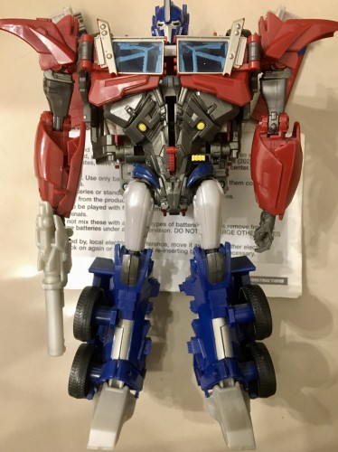 Action Figures Hasbro Optimus Prime Weaponizers (2011)-Transfomers-