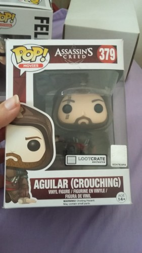 Funko Pop Aguilar (crouching)-Assassins Creed-379