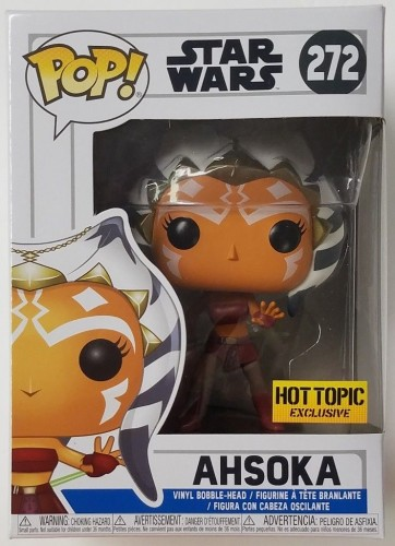 Ahsoka - Funko Pop! Exclusivo Hot Topic-Star Wars-272