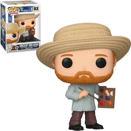 Funko Pop Vicent Van Gogh-Vicent Van Gogh-3