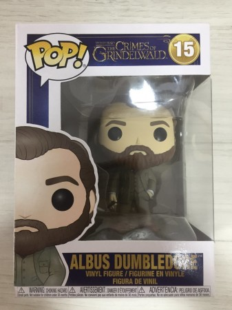 Albus Dumbledore Animais Fantasticos Funko Pop!-The Crimes Of Grindelwald-15