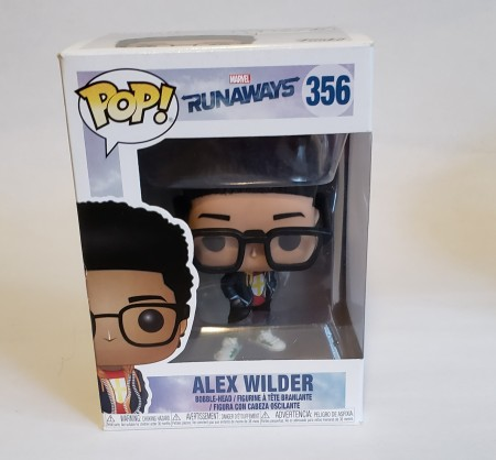 Funko Pop Alex Wilder-Runaways-356