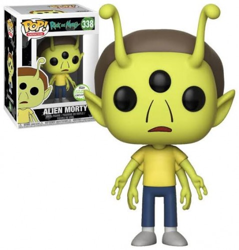 Funko Pop Alien Morty - Eccc 2018-Rick and Morty-338