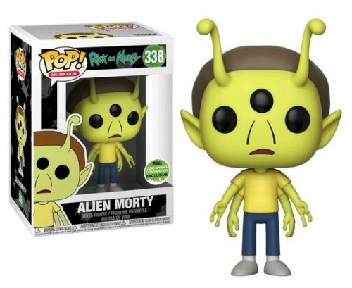 Funko Alien Morty-Rick and Morty-338