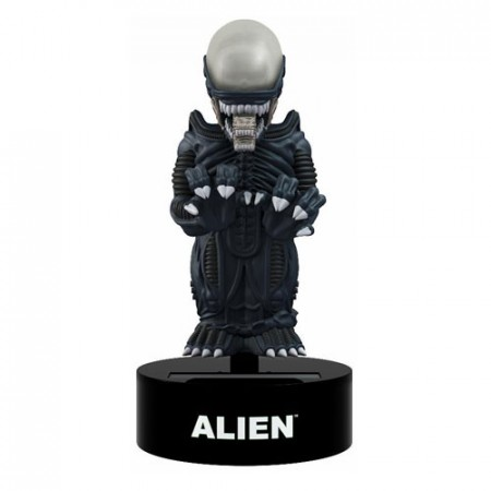 Action Figures Alien Xenomorph Solar-powered Bobble Head-Alien-