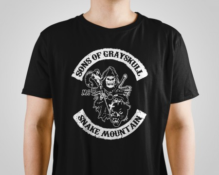 Almofada Camiseta Sons Of Grayskull-He-Man-