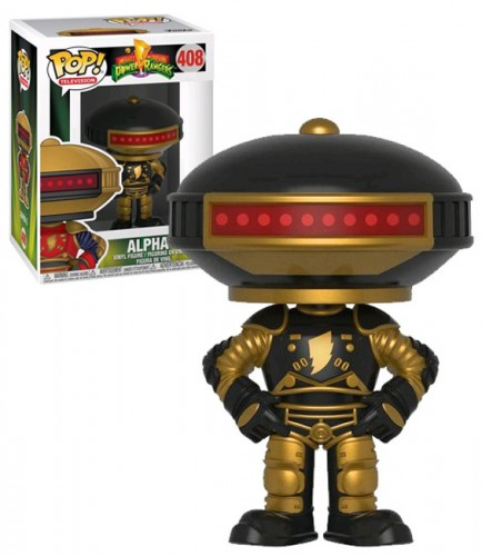 Alpha 5 408 Exclusivo Pop Funko Power Rangers-Power Rangers-408