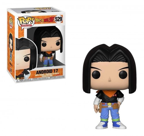 Funko Pop! Dragon Ball Z: Android 17 - Dragon Ball Z . - #529