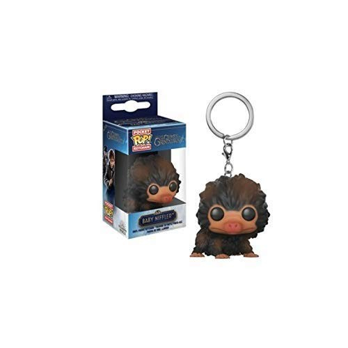 Chaveiro Funko Pop Keychain: Fantastic Beasts 2 Crimes Of Grindelwald - Baby Niffler (brown) Pelucio-Animais Fantásticos-